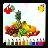 New Coloring Fruits icon