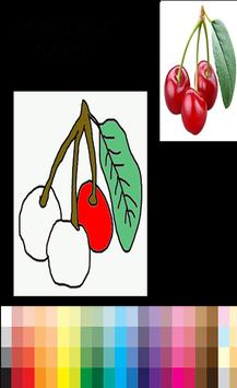 New Coloring Fruits poster