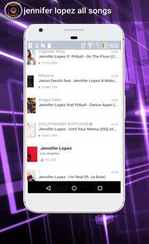 jennifer lopez all songs screenshot 2