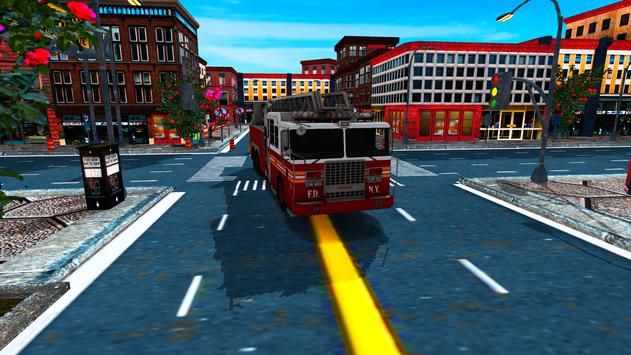China Town Fire Truck Pro poster