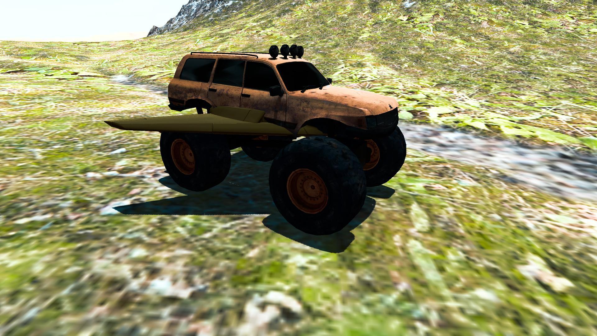 Flying Car: Monster Truck 3