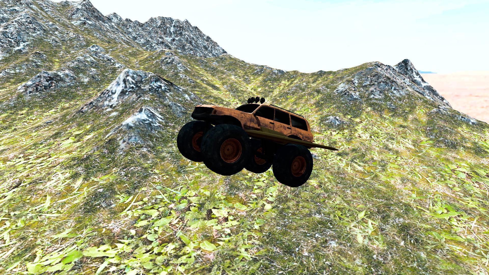 Flying Car: Monster Truck 2