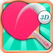 Table Tennis Ping Pong 3D icon