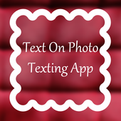 Text On Photo Texting App icon