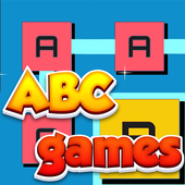 ABC Alphabet game : word link match puzzle icon
