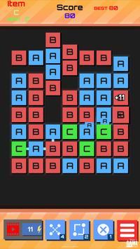 ABC Alphabet game : word link match puzzle screenshot 1