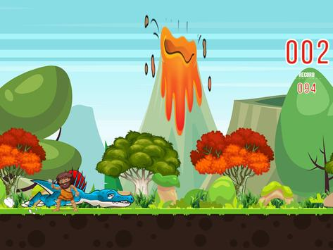 Dinosaur games for kids runner apk screenshot