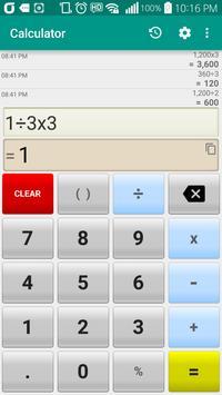 Calculator poster