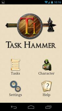 Task Hammer poster