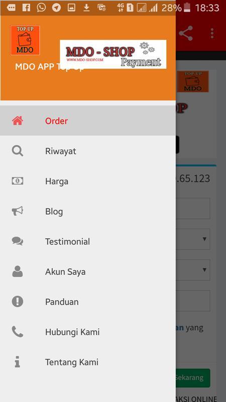 Mdo Shop Aplikasi Beli Pulsa Termurah For Android Apk Download