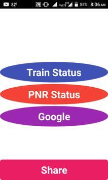 Train Running Status Live & PNR Status Indian Rail poster