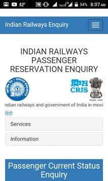 Train Running Status Live & PNR Status Indian Rail screenshot 2