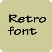 Retro Font for Samsung Galaxy icon