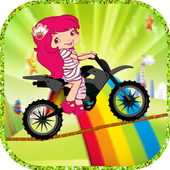 Strawberry Shortcake Biker icon