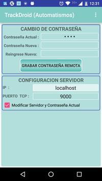 TrackDroid Automatismo screenshot 4