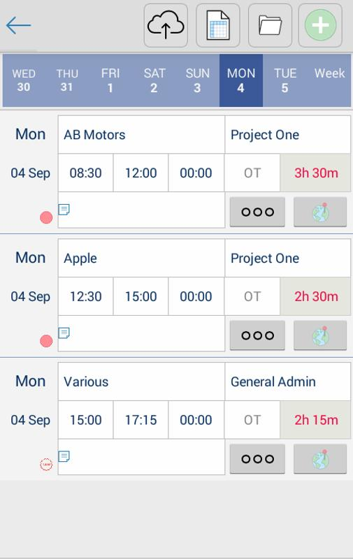 timesheet tracking ttn for android apk download