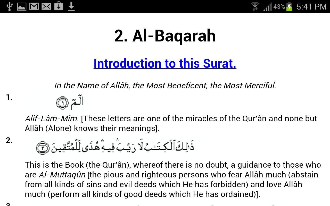 Quran With English Translation for Android - APK Download