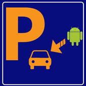 Where I have parked icon