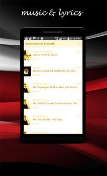 Krishnakumar Kunnath all songs apk screenshot