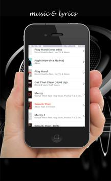 akon all songs lyrics apk screenshot