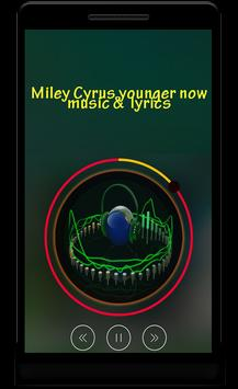 miley cyrus younger now poster