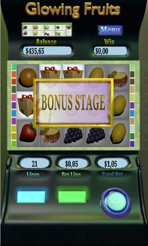Glowing Fruits Jackpot apk screenshot