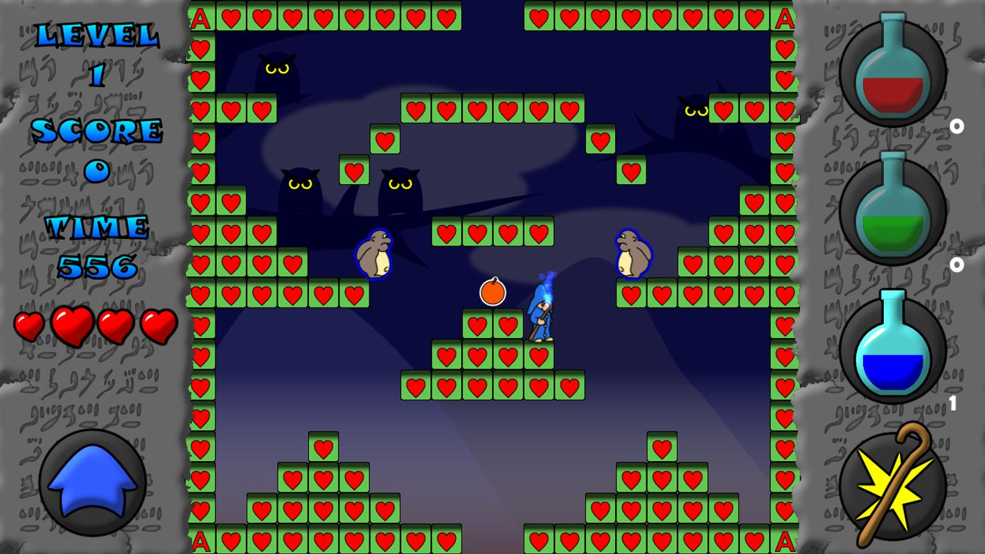 the blue wizard lite apk download free arcade game for android