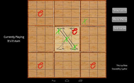 uTicTacToe apk screenshot
