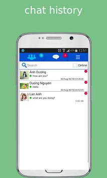 video for facebook chat apk screenshot