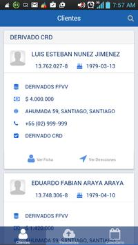 Panel Móvil BancoCrediChile apk screenshot