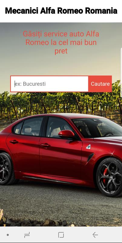 Mecanici Alfa Romeo Romania For Android Apk Download