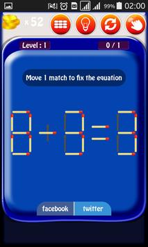 Matches Puzzle screenshot 2