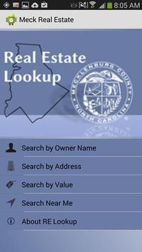 Meck County Real Estate Lookup poster