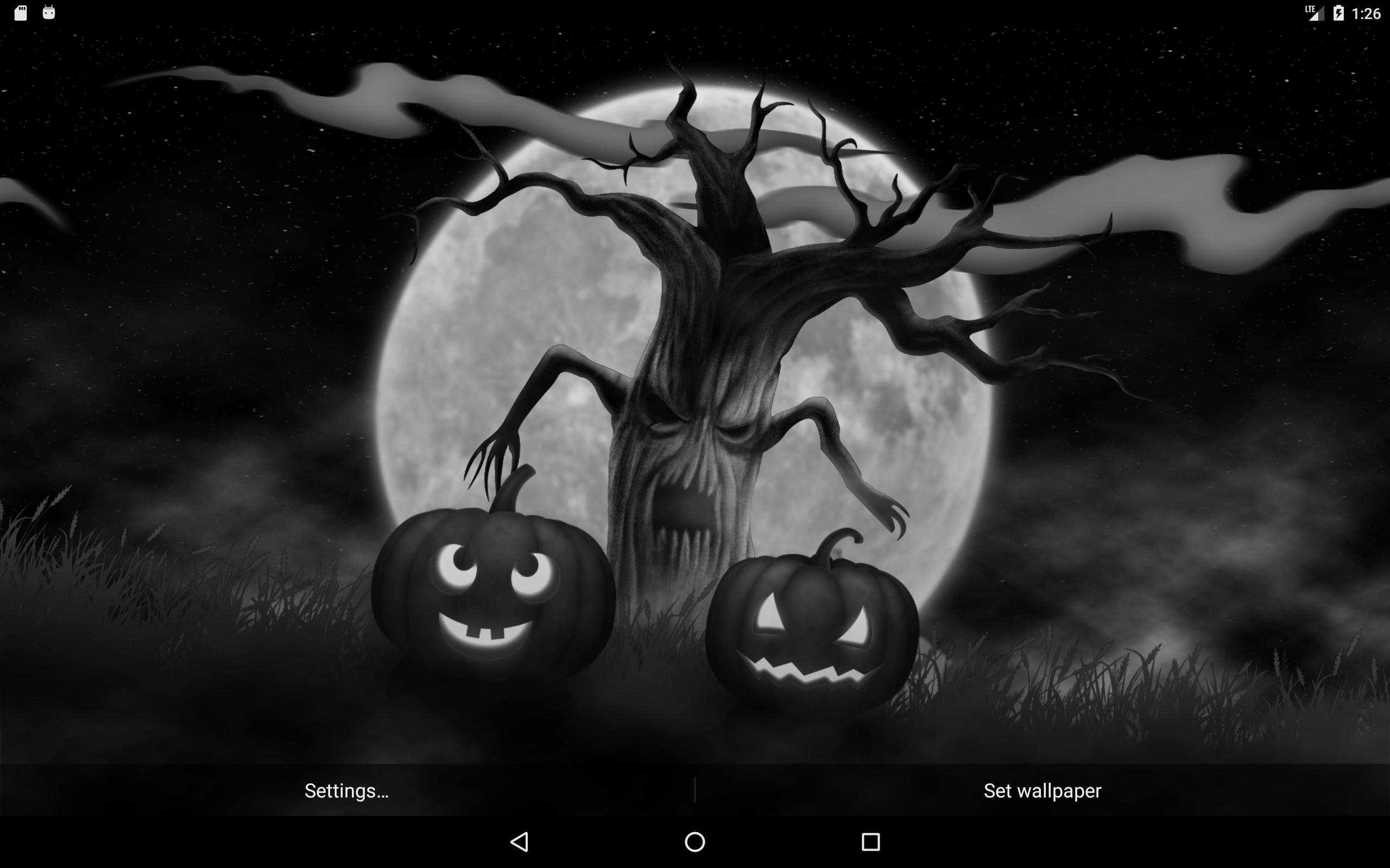 Halloween Spooky Wallpaper.Spooky Halloween Tree Live Wallpaper For Android Apk Download