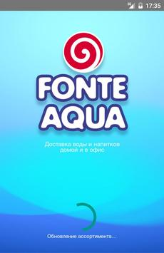 Fonte Aqua poster