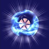 Disco Ball Zig Zag icon