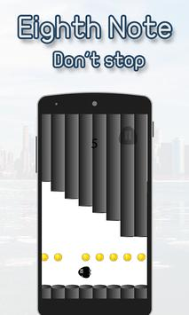 Eighth Note  Scream Go apk screenshot