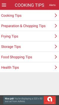 Cooking Tips & Tricks apk screenshot