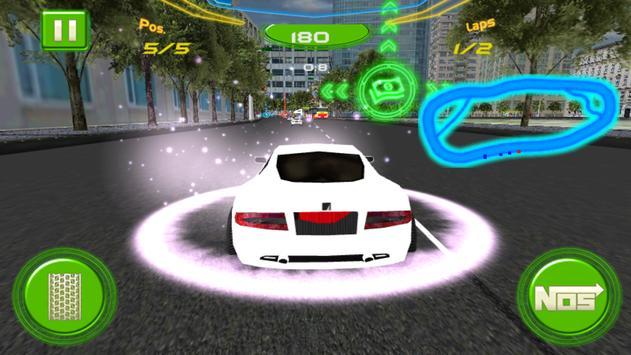 Mega Auto Race Car poster