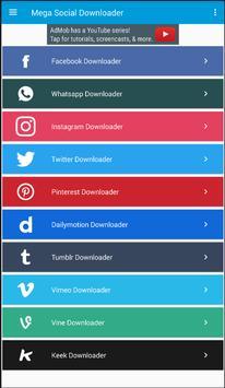 Mega Social Downloader poster