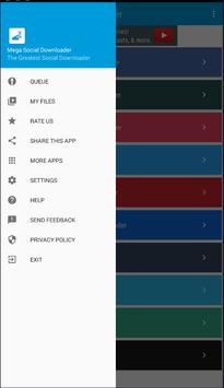Mega Social Downloader screenshot 1