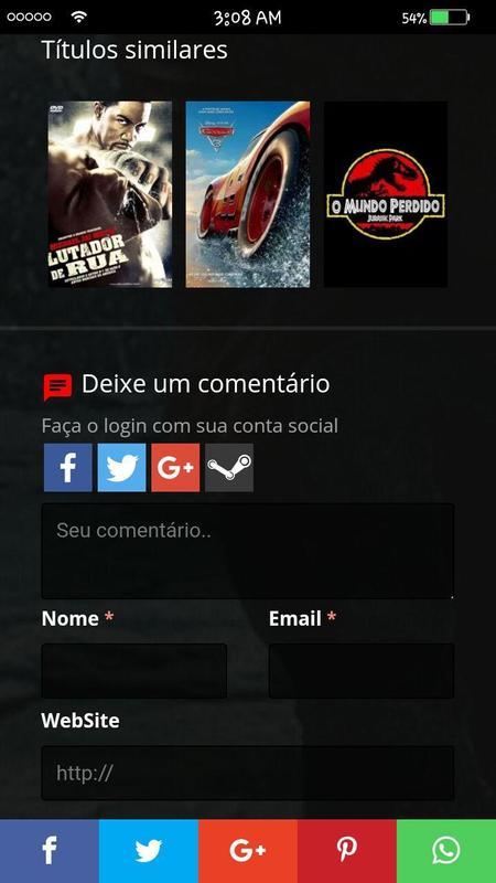Mega Filmes HD imagem de tela 2