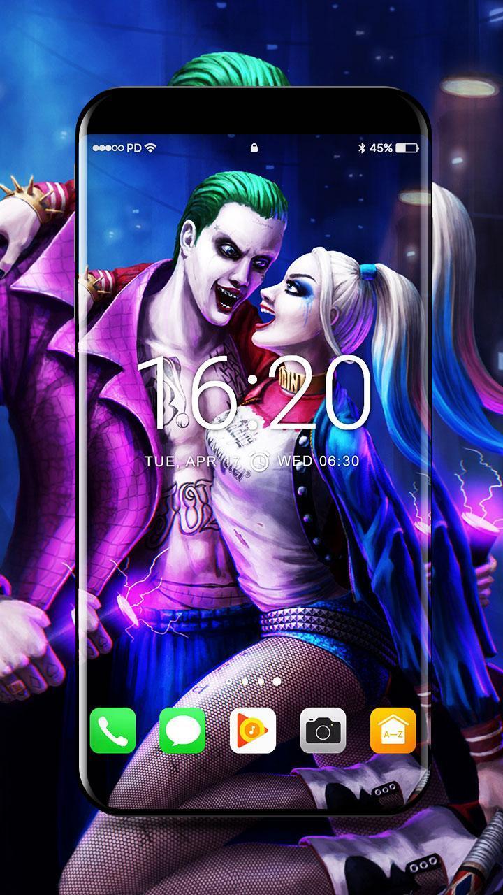 Joker And Harley Quinn Wallpapers 4k для андроид скачать Apk