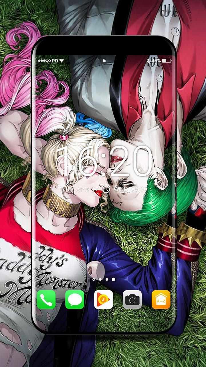 Joker And Harley Wallpapers 4k For Android Apk Download