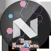 Thema-Nougat-Xperia icon