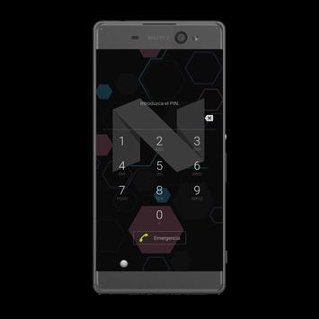 Thema-Nougat-Xperia apk screenshot