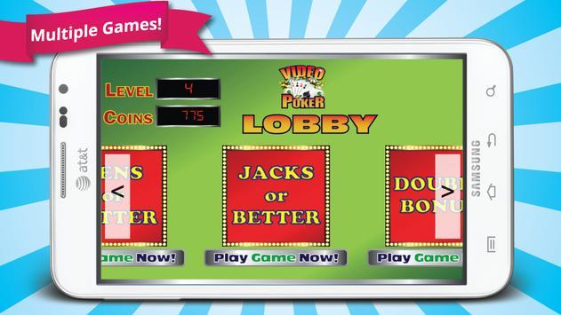 Mega Video Poker apk screenshot