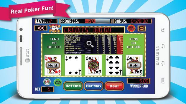 Mega Video Poker poster