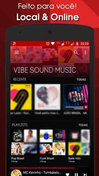 Vibe Sound MP3 Player: Músicas grátis poster