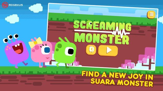 Screaming Monster poster